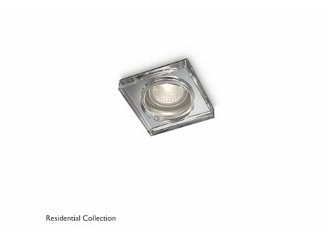 Dermos recessed chrome 1x35W 230V
