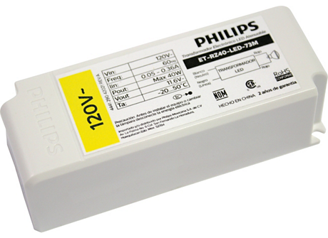 LED TRANSFORMER (120V 40W DIMMABLE)