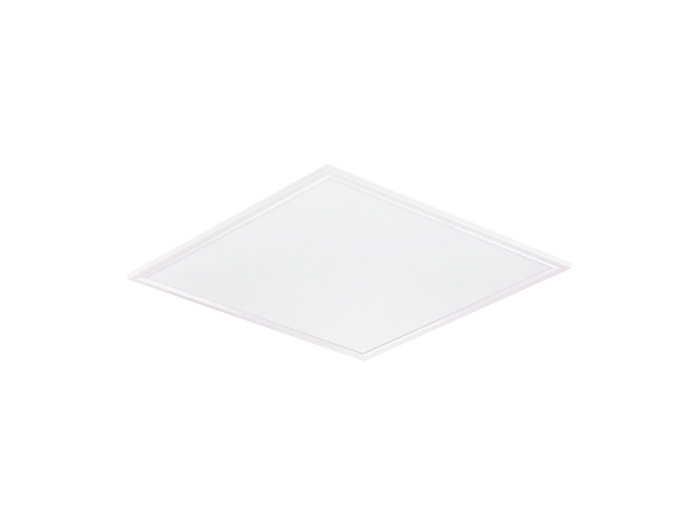CoreLine panel OC RC127V recessed luminaire, square version (module size 600)