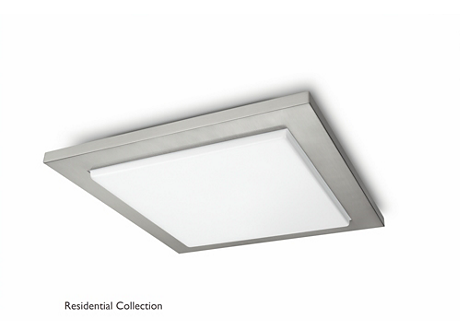 Candace ceiling lamp nickel 1x40W