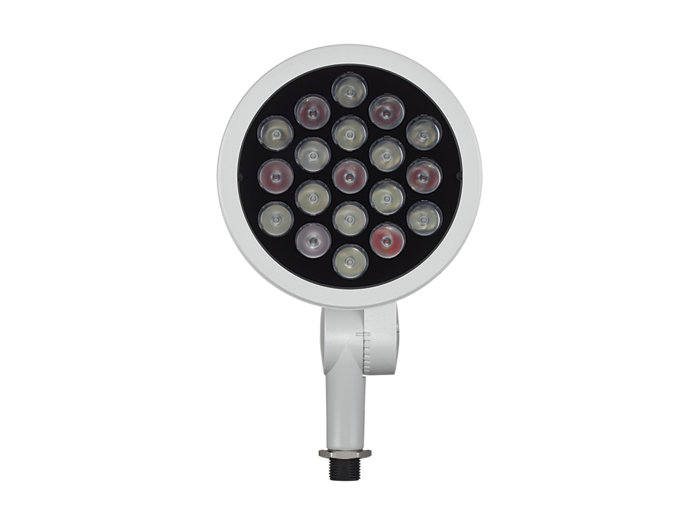ColorBurst IntelliHue Powercore LED spotlight Landscape fixture, front view