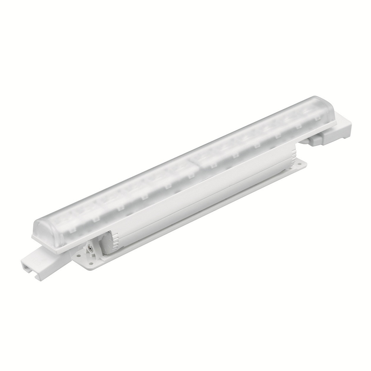eColour Fuse Powercore - linear interior LED wall grazing luminaire with solid colour light