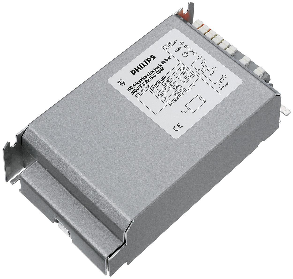 PrimaVision Twin (35 W i 70 W) dla CDM — ekonomiczne i funkcjonalne rozwiązanie