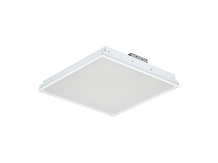 SmartBalance recessed RC482B LED luminaire, module size 625 (visible profile ceiling version)