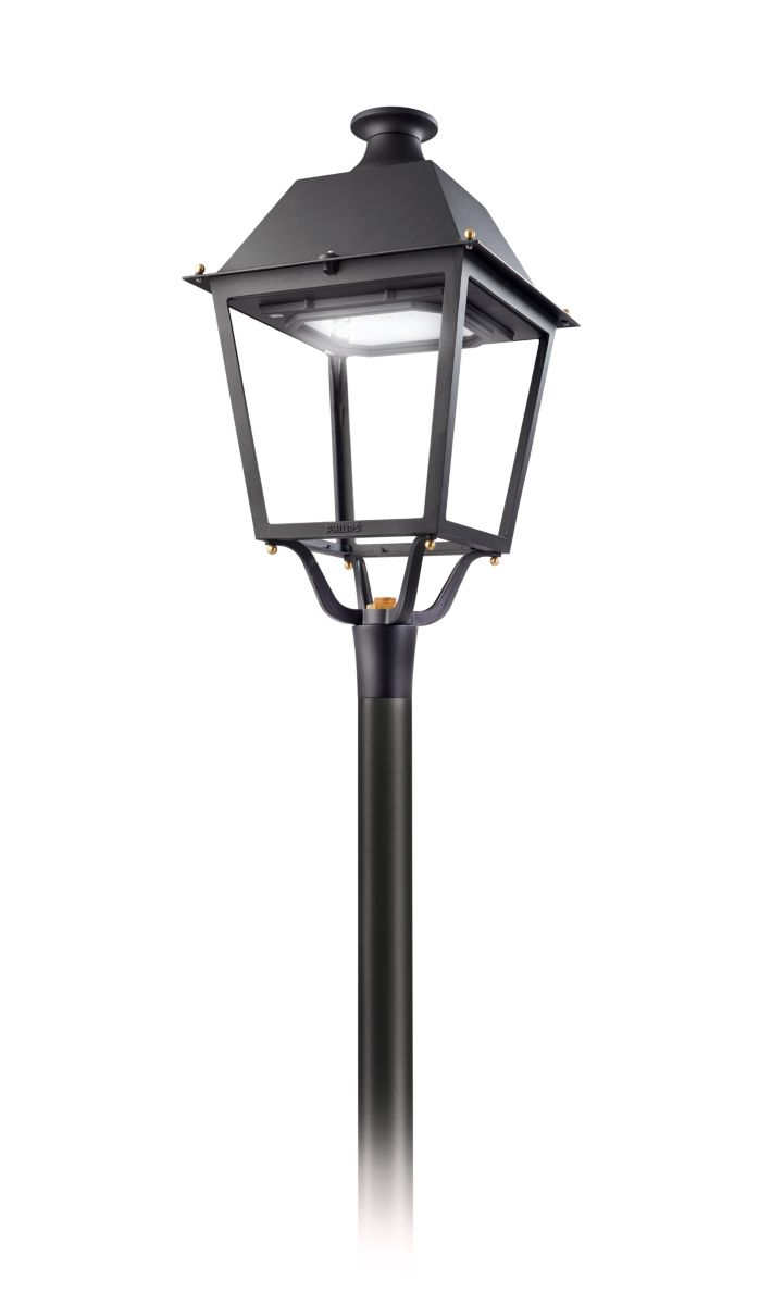 Iconic Iberian four-sided luminaire. Villa LED  sc 1 st  Philips Lighting & Villa LED Road and Urban Luminaires - Philips Lighting azcodes.com