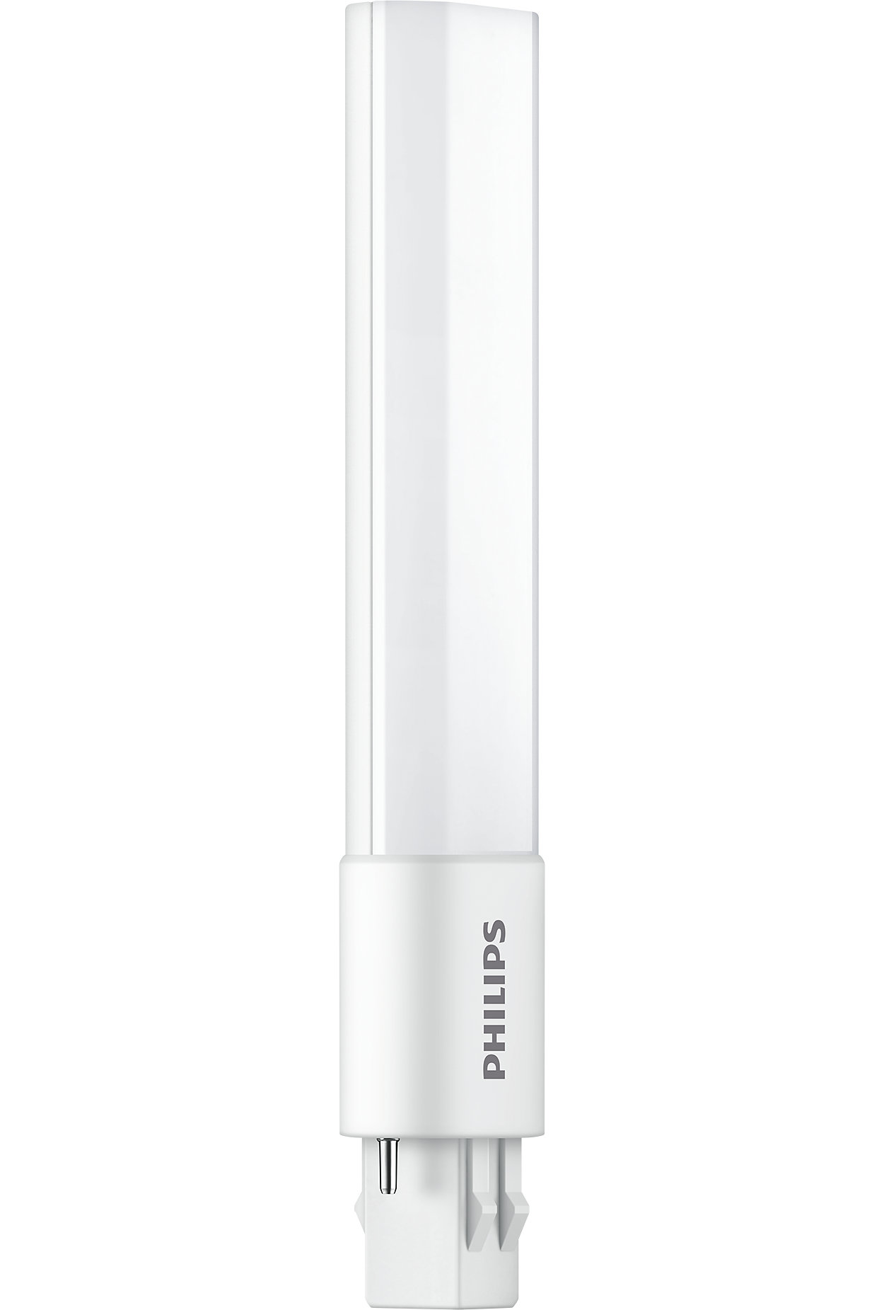 Philips most advanced LED replacements for compact fluorescent 2-pin PL-S lamps