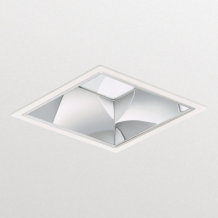 LuxSpace square, recessed – high efficiency, visual comfort and a stylish design