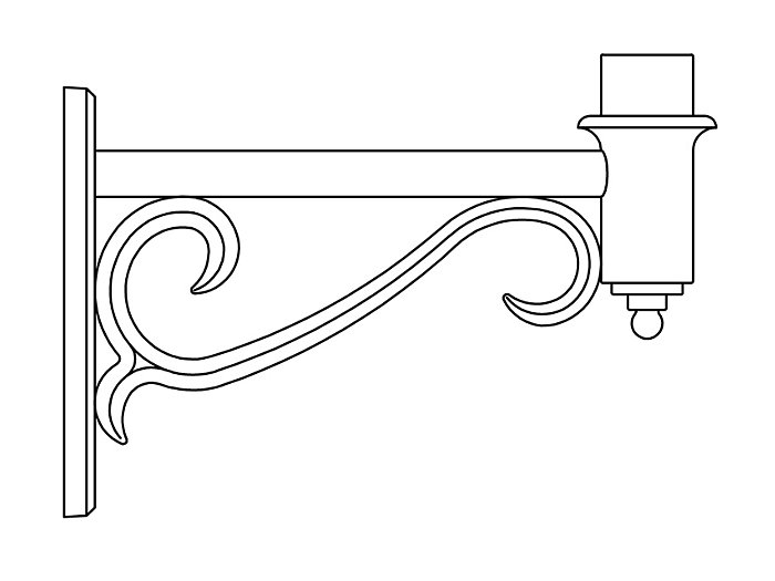 Arms, Wall Mount (PTW2280)