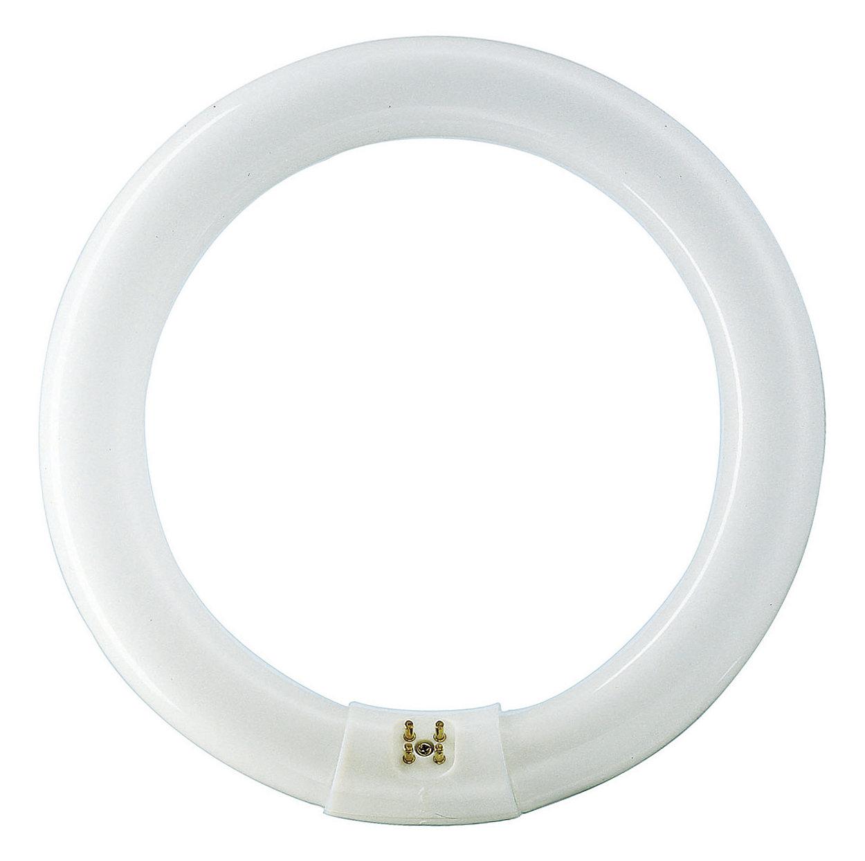 Cirkelformat lysrör med förbättrad färgåtergivning