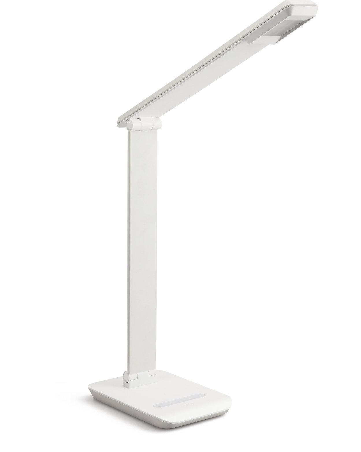 Enhanced desk lighting because comfort matters