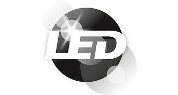 Lielas jaudas gaismas diode