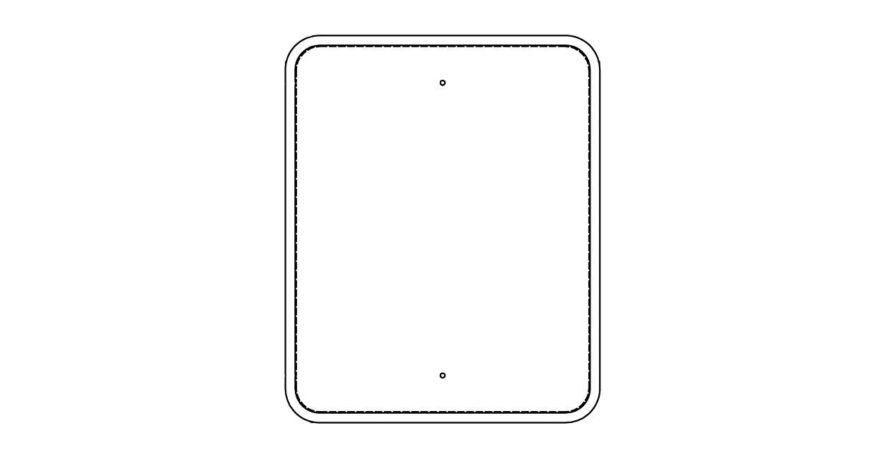 Traffic Sign Frames (213TSF) - added durability