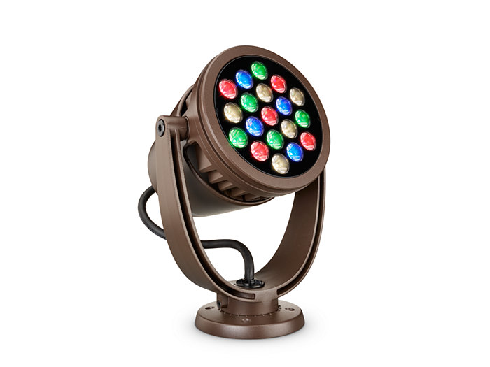 ColorBurst Powercore gen2, RGBW LED spotlight Architectural fixture
