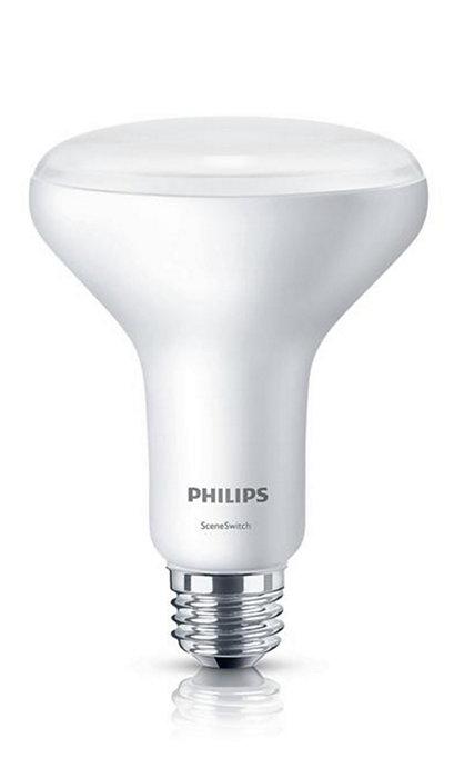 One bulb, 3 color settings