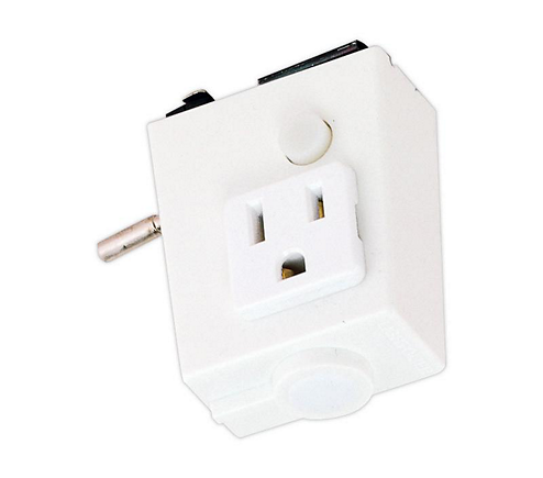 Convenience Outlet, Lytespan Track, White