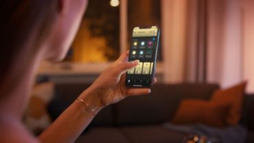 Steruj maksymalnie 10 punktami świetlnymi w aplikacji mobilnej Hue Bluetooth