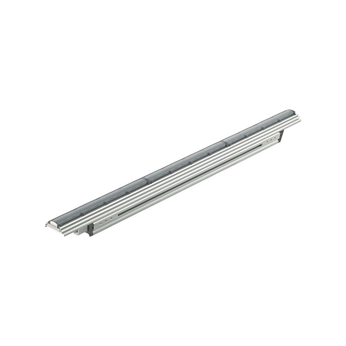 eColor Graze QLX Powercore – Performance linear exterior LED wall grazing luminaire with solid color light