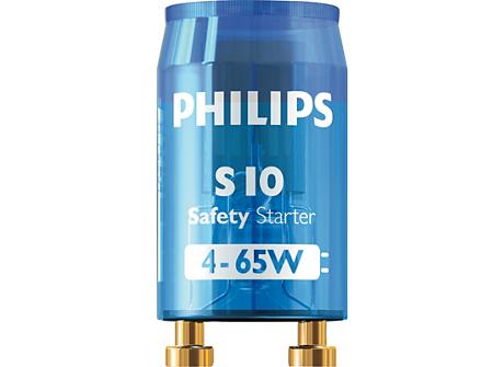 S10 4-65W SIN 220-240V BL ECO LIS/12X25