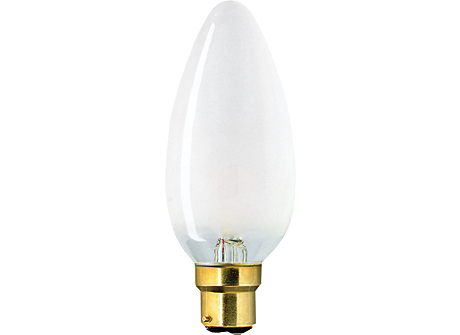 230V 25W BC PEARL CANDLE
