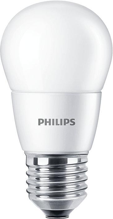La lámpara CorePro LEDVela mate está diseñada para la sustitución de lámparas incandescentes. Es compatible con luminarias con un casquillo E14 y resulta atractiva para los apliques. Las lámparas LED suponen un ahorro enorme de energía y minimizan lo