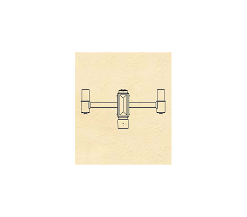 Post Top Bracket Arms (541-4 thru 547-4)