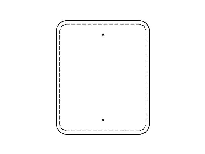 Flat Sign Backs (213FBT)