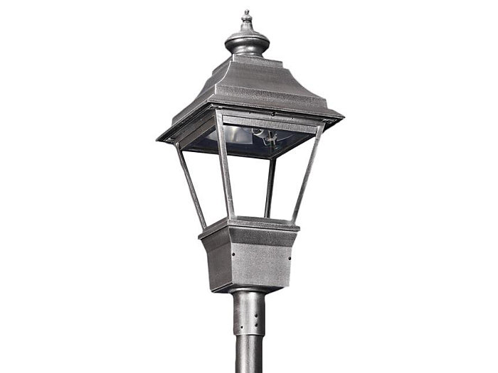 Grande Essex, 150W Clear HPS Lamp, Type V Cutoff Reflector, Utility Pod Post Top Mount