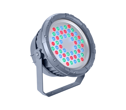 BVP324 54LED RGB 220V 8 DMX