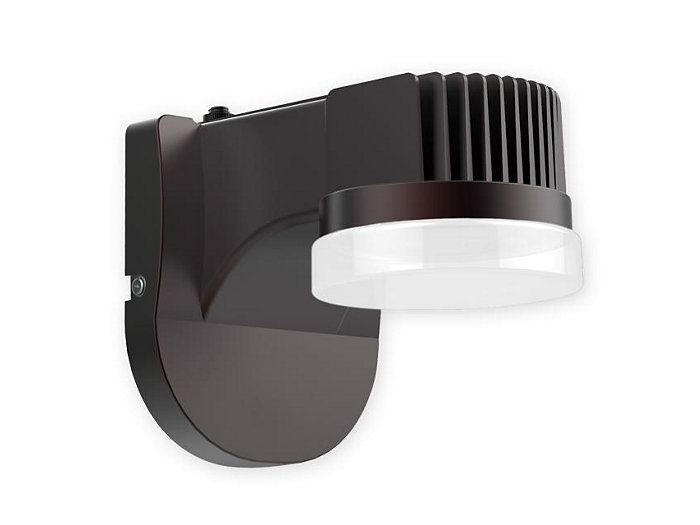 LED Wall Light, 1 Chip on Board, 5000K,