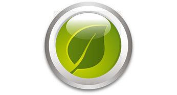 Mức tiêu thụ năng lượng rất thấp; tiết kiệm ít nhất 80%