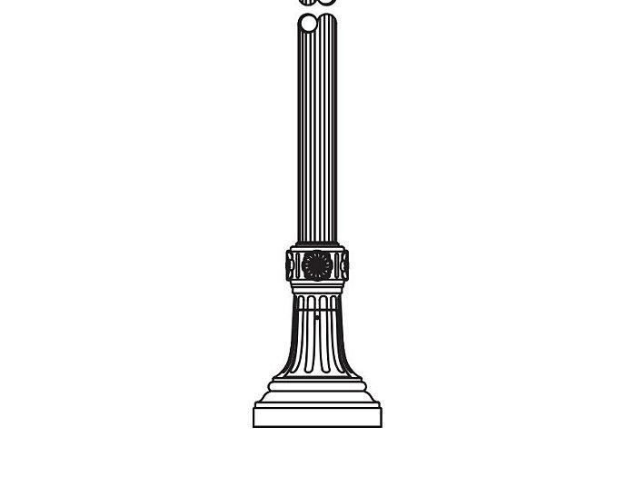 Anchor Base Post (784-)