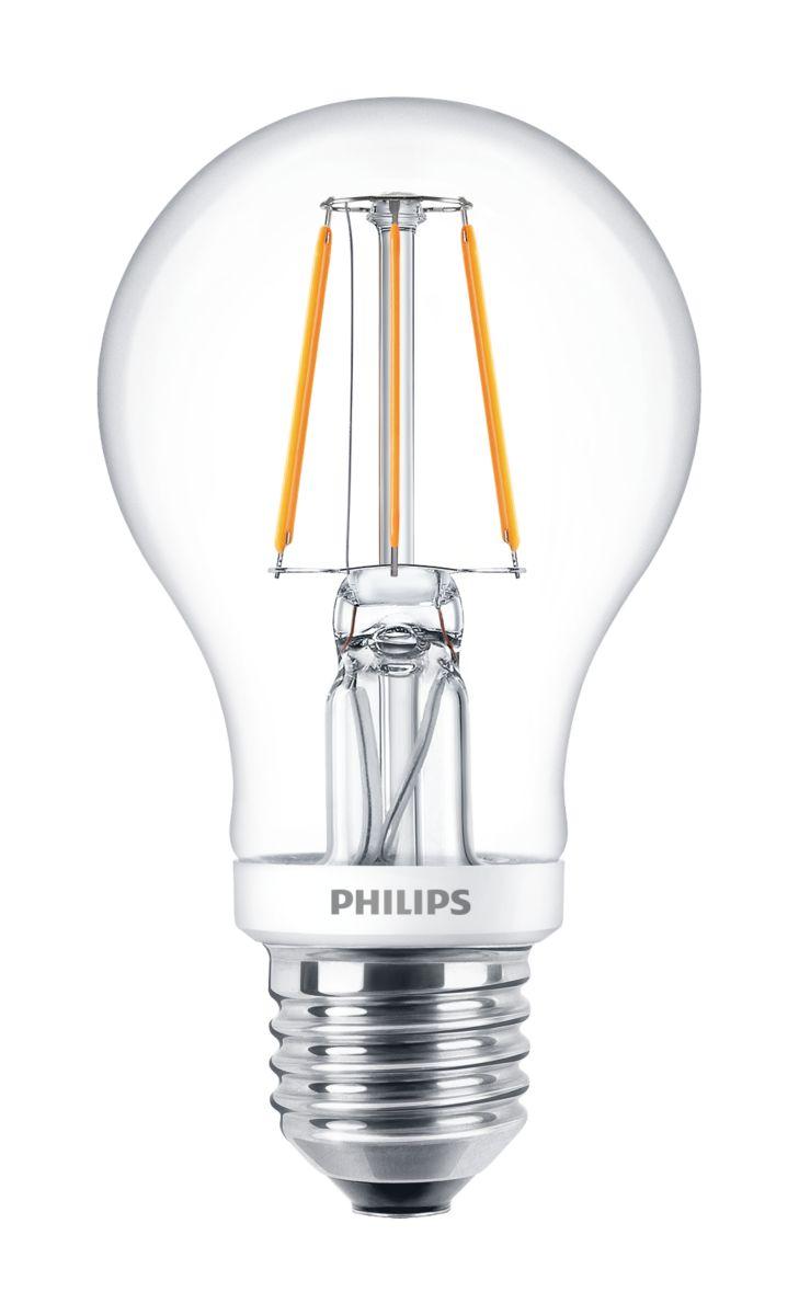 Classic filament LED Lamps LED bulbs Philips Lighting