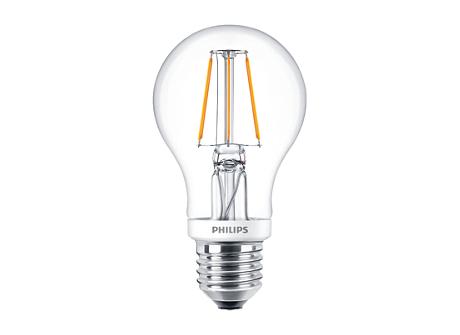 CLA LEDBulb D 4.5-40W A60 E27 827 CL