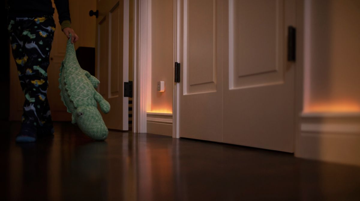 Trigger smart lights with motion sensors