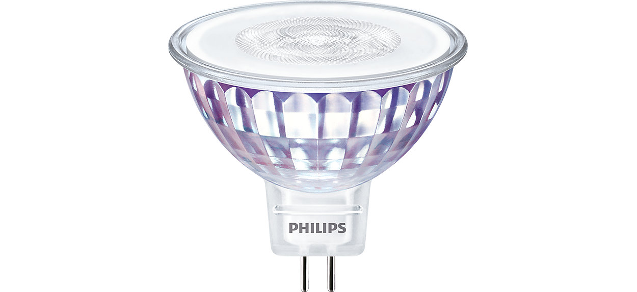 Philips MASTER VALUE MR16De ideale oplossing voor spotverlichting
