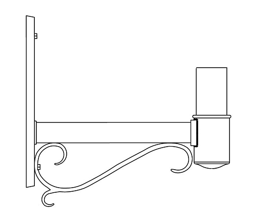Wall Mount Bracket (235S)