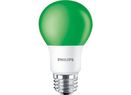 BC8A19/LED/GREEN/ND 120V