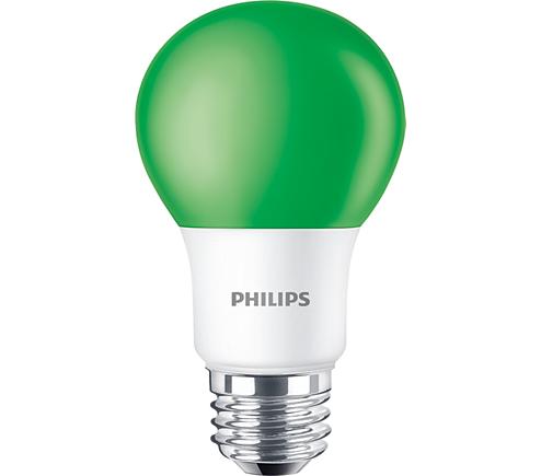 Standard LEDBulb BC8A19/LED/GREEN/ND 120V