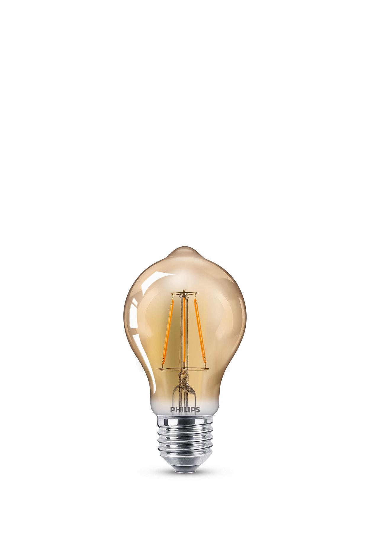 Los beneficios de LED con un look vintage familiar