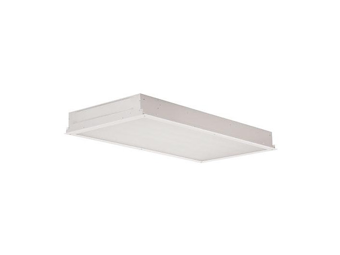 "2x4, 6 Lamp F32T8, .125"" Prismatic Acrylic, 200 PSI Hosedown Rated, Overlap Doorframe"
