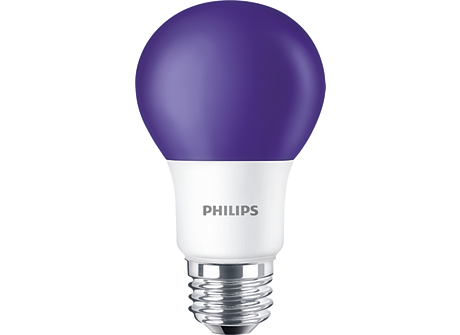 BC8A19/LED/PURPLE/ND 120V 6/1