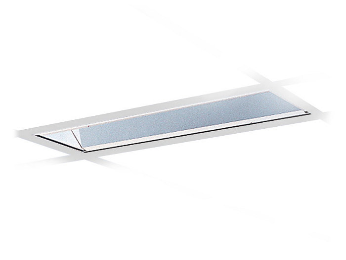 High Performance, 2', Lensed Recessed Wallwasher/Accent Light,One Twin-Tube T5 Lamp, Low iridescent specular reflective system for precise controlled light output.