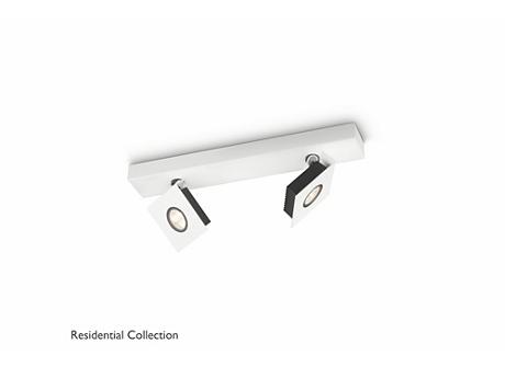 METRYS bar/tube white 2x4.5W SELV