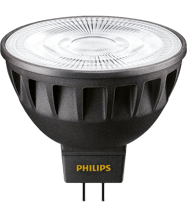 Strong performance spotlight for retrofit MR16 halogen spots