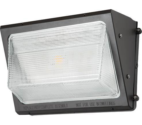 WP, LED, 50W, 4000K, 70 CRI, 120-277V, Bronze
