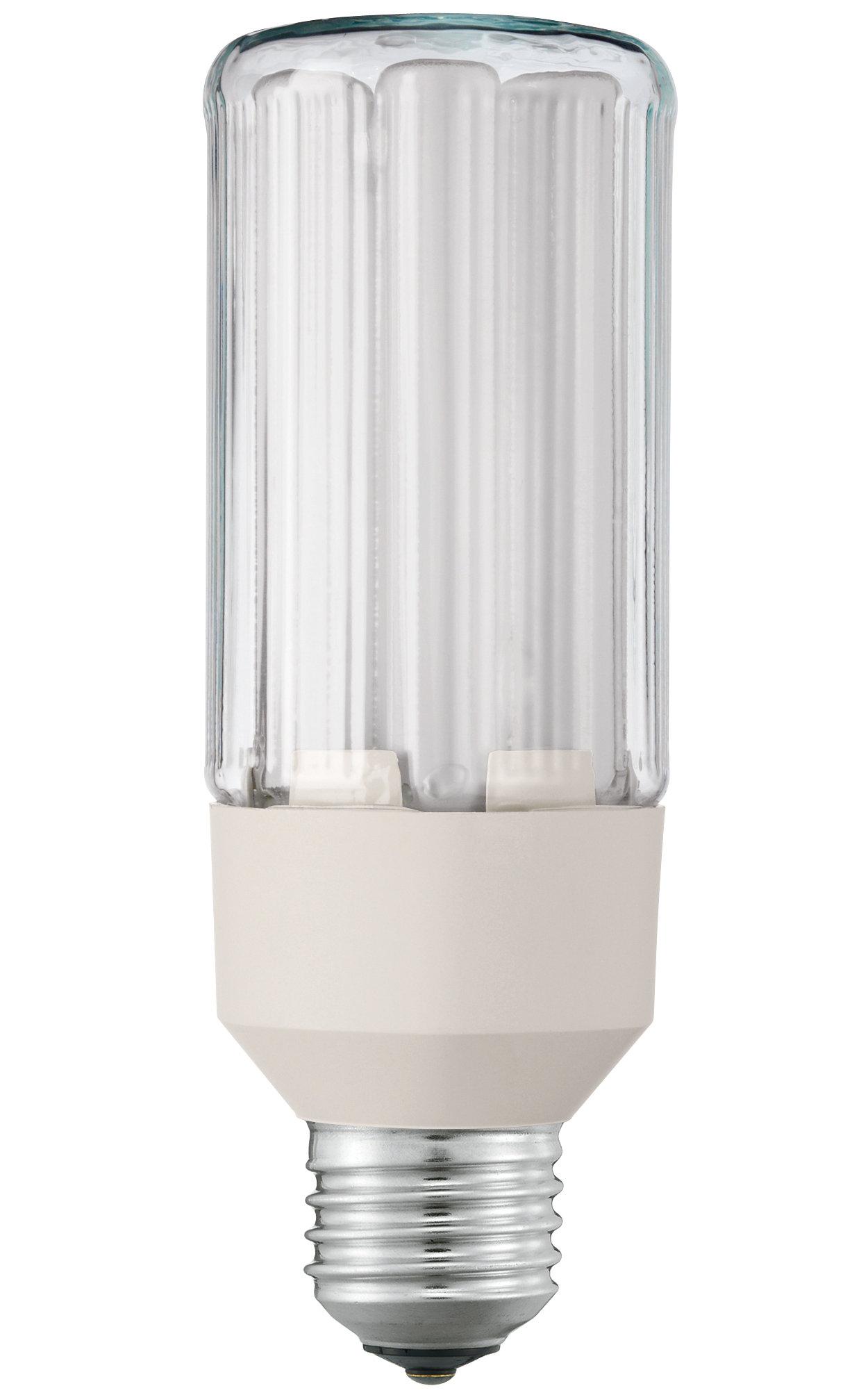 Produit Philips Label vert le plus respectueux de l'environnement dans la gamme des lampes basse consommation