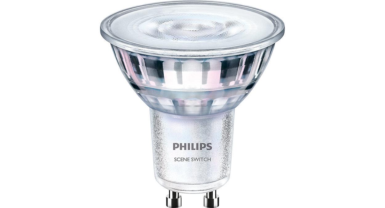 Přepínejte světelné nastavení bez výměny bodových světel