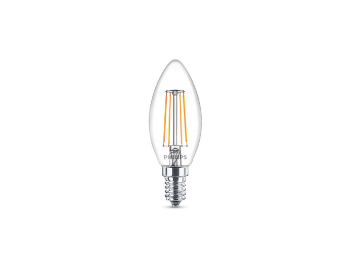 Classic filament LED candles and lusters
