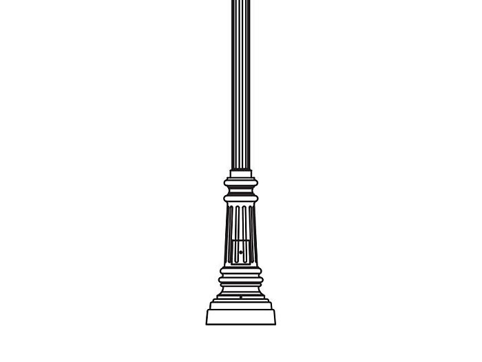 Anchor Base Post (284-)