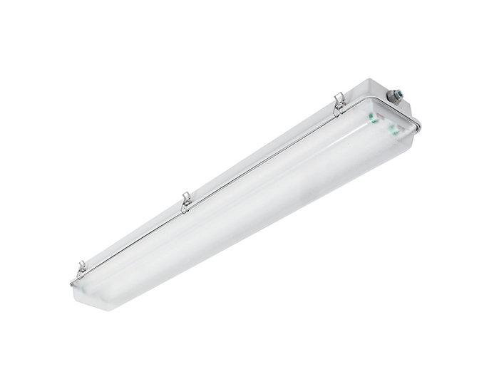 4', 3 Lamp F32T8, Acrylic Lens